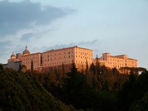 Present-day Monte Cassino, where allies met tenacious German defenses during WWII. Photo courtesy of: Wharton