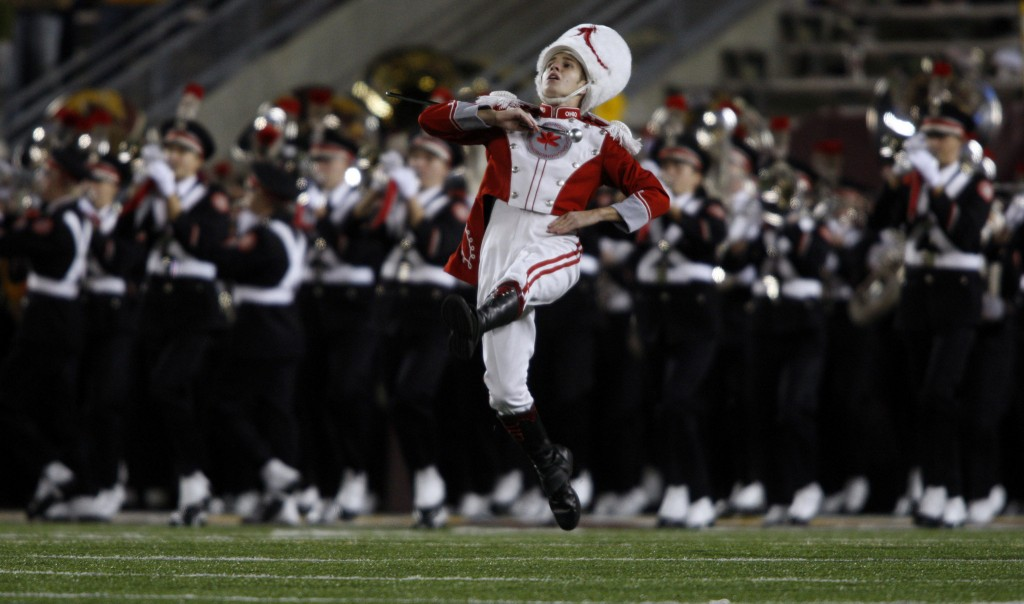 Ohio State University's Marching Band.