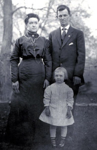My grandmother and great-parents in Dayton, circa 1911-12.