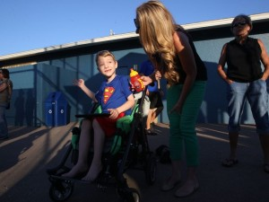 Mitochondrial Disease sufferer Gavin Lawrey.  Photo by Sarah Coward/news-press.com