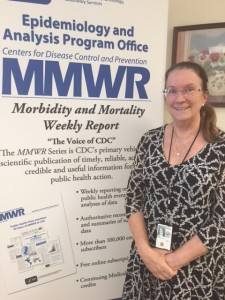 Charlotte Kent, Executive Editor, MMWR.
