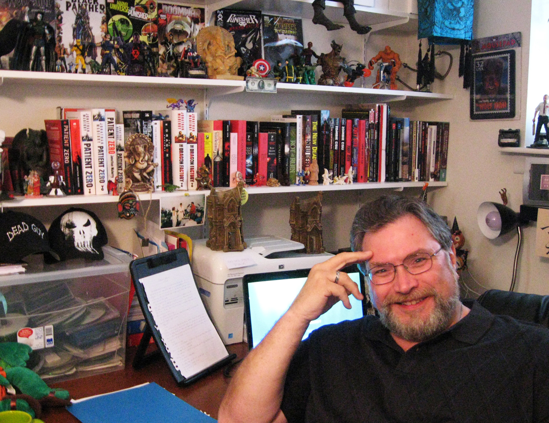 Combating the Darkness: Inside the Writing Process of Multi-Bram Stroker Award Winner Jonathan Maberry