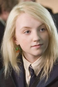 Beloved and wacky Harry Potter character, Luna Lovegood.
