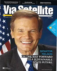 Via Satellite cover